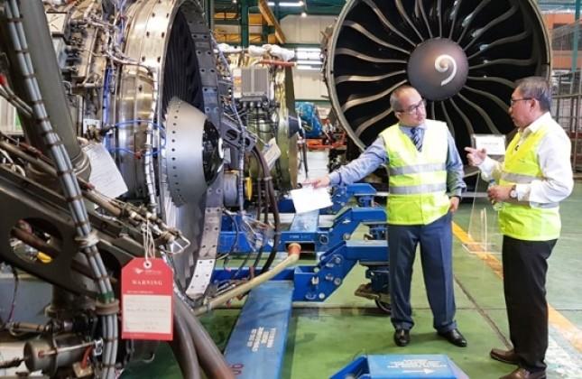Industri perawatan dan perbaikan pesawatatau maintenance, MRO (Foto Dok Industry.co.id)
