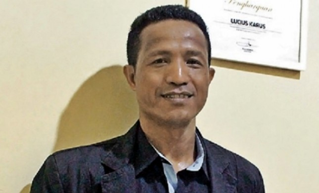 Forum Masyarakat Peduli Parlemen (Formappi) Lucius Karus (Foto Dok Industry.co.id)