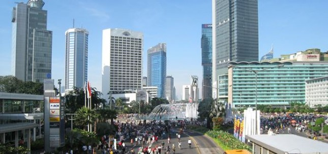 Gedung Perkantoran di Jakarta (Foto Dok Industry.co.id)