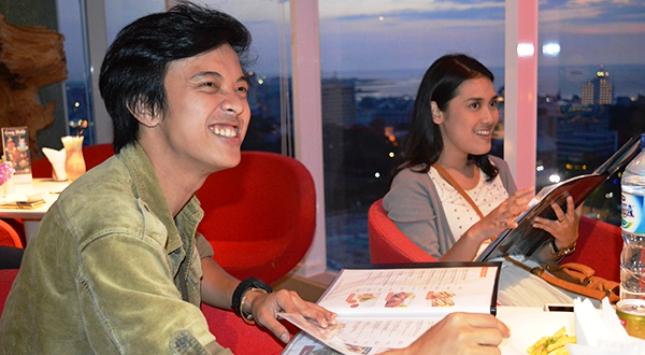 Bisma Karisma dan Andania Suri Pemeran Utama film Silariang