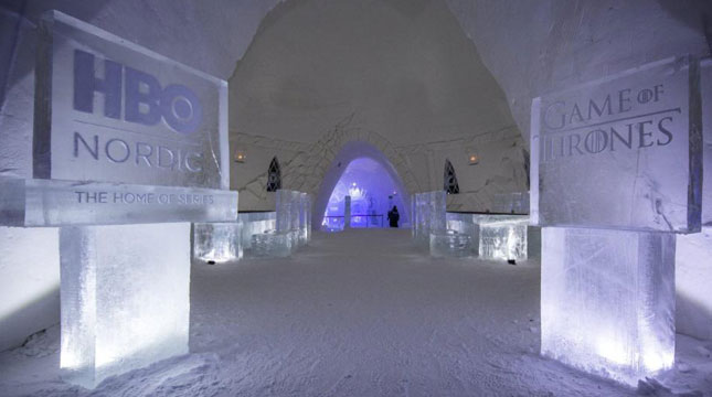 Hotel Es SnowVillage yang Betemakan Game of Thrones di Finlandia (Foto:www.thesun.co.uk)