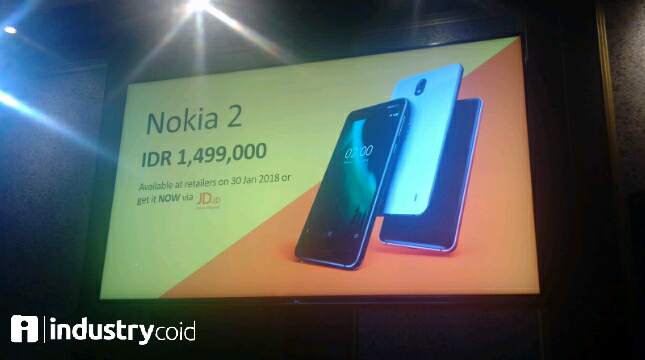 Nokia 2 (Hariyanto/ INDUSTRY.co.id)