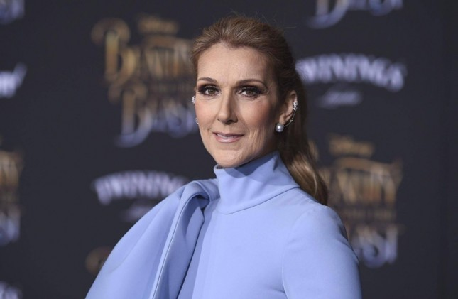 Celine Dion di Premier Film Beauty and The Beast. (Foto Ist)