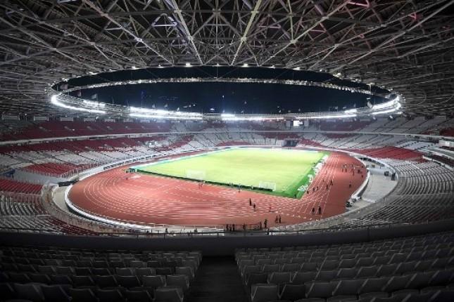 Stadion Utama GBK Dilengkapi Pencahayaan Berkekuatan 3.500 Lux