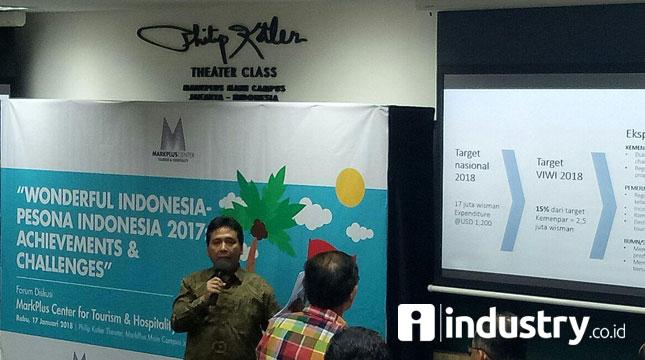 Ketua Umum Persatuan Hotel dan Restoran Indonesia (PHRI), Hariyadi Sukamdani (Chodijah Febriyani/Industry.co.id)