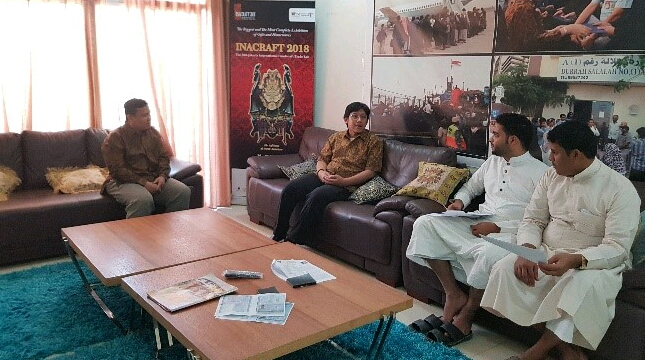 Dua Pengusaha Yaman Jajaki Potensi Impor Keramik Indonesia