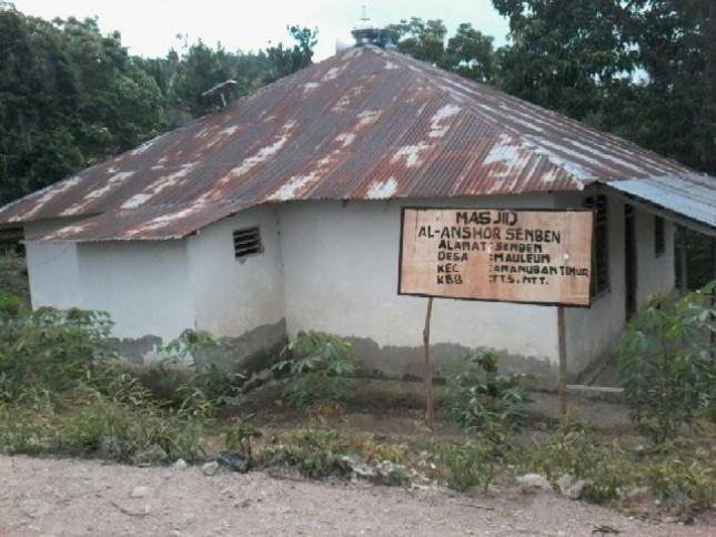 Salah satu Masjid di pedalaman
