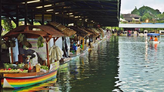 Floating Market Lembang, Bandung (Foto:javawisata.com)
