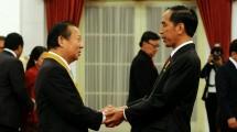 Presiden Joko Widodo (Jokowi) dan Toshihiro Nikai (ist)