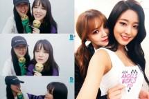 Seolhyun dan Jimin, Personel Girlband AOA. (Source: Kpopchart)