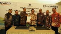 Lembaga Pengelola Dana Bergulir - Koperasi dan Usaha Mikro Kecil dan Menengah (LPDB-KUMKM) gandeng Jamkrindo dalam penyaluran pembiayaan bagi UMKM.