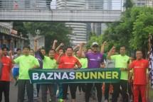 Komunitas Lari BAZNAZ. (Dok. Industry.co.id)