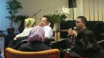 Konferensi pers pembentukan holding industri migas
