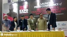 Konferensi pers pameran SSF Expo Indonesia 2018 (Hariyanto/INDUSTRY.co.id)