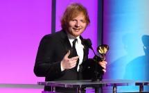 Ed Sheeran pada saat Grammy Awards 2016. (Foto Ist)