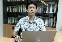 Stanislaus Riyanta, mahasiswa Doktoral Fakultas Ilmu Administrasi Universitas Indonesia