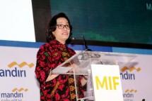 Menkeu Sri Mulyani (Foto Rizki Meirino)