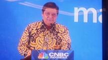 Menteri Perindustrian Airlangga Hartarto pada saat acara Soft Lounching CNBC Indonesia (Foto: Ridwan/INDUSTRY.co.id)