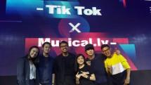 Aplikasi Tik Tok dan Musical.ly kolaborasi untuk merayakan kreatiitas. (Foto: Dina Astria/Industry.co.id)
