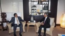 Menteri Perindustrian Airlangga Hartarto bersama Menteri Luar Negeri Singapura Vivian Balakrishnan (Foto: Dok. INDUSTRY.co.id)