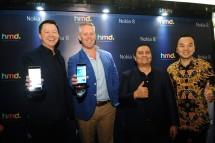 Peluncuran Produk Terbaru Smartphone Nokia 8 pada Selasa (13/2). (Dok. Industry.co.id)