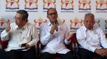 Ketua Umum Kadin Rosan P Roslani dan pengurus lainnya. (Foto: Istimewa)
