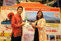 BNI dan HIS menggelar pameran BNI Travel Experience bertajuk It's All About Japan pada Kamis (15/2). (Dok Industry.co.id)
