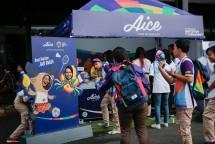 Es Krim Aice beri ucapan selamat pada pemenang Asian Games 2018. (Dok Industry.co.id)