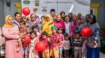Aksi sosial Corporate Social Responsibility oleh Jababeka dan LOreal