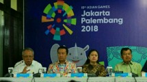 Rapat koordinasi kesiapan penyelenggaraan Asian Games XVIII
