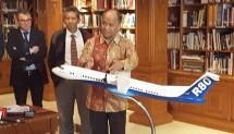 DR. Ilham Habibie Menjelaskan Tentang Perkembangan Rencana Pembuatan Pesawat R80 yang diinisiasi oleh PT Regio Aviasi Industri (RAI)