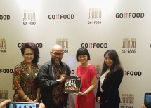Press Confrence Malam Juara GO-FOOD pada Jumat (23/2). (Foto: Dina Astria/Industry.co.id)
