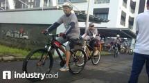 Fun Bike Patria dan Jababeka Infrastruktur (Hariyanto/INDUSTRY.co.id)