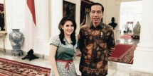 Presiden Jokowi dan Ketum DPP PSI Grace Natalie (Foto Setkab)