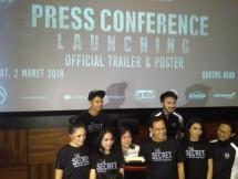 RA Pictures merilis teaser dan poster film produksinya yang berjudul THE SECRET: Suster Ngesot Urban Legend di Queens Head Kemang pada Jumat (2/3/2018). (Dok: INDUSTRY.co.id)