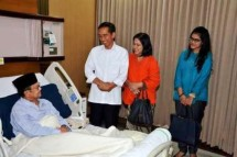 Presiden Jokowi dan BJ Habibie (Foto Setkab)