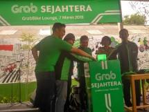 Manjakan pengemudinya Grab meresmikan Grabbike Lounge di Daan Mogot, Jakarta Barat, Rabu 7 Maret 2018 (Fadli: INDUSTRY.o.co.id)