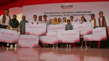 Tiga BUMN Bersinergi Dalam Perbaikan Infrastruktur Dasar dan Pendidikan di Adonara