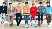 Boyband Super Junior. (Source: Popsugar)
