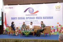 Pacific Paint Resmikan CSR Operasi Mata Katarak Gratis Mata Untuk Warna. (Dok Industry.co.id)