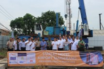 Peresmian pembangunan Starlet Hotel di kawasan airport Tangerang. (Dok Industry.co.id)