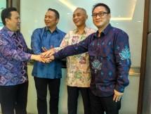 Penandatanganan Memorandum of Collaboration (MoC) antara Pelindo III dan tiga perusahaan, yaitu PT Muria Sumba Manis, PT Sriboga Flour Mill, dan PT lndonesia Bulk Terminal.
