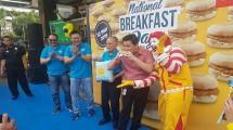 McDonald's Rayakan National Breakfast Day
