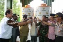 Baznas Bangun Instalasi Air Minum untuk Masyarakat Asmat (Foto Dok Industry.co.id)