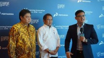 Menperin Airlangga Hartarto bersama Menkominfo Rudiantara (Foto: Dok. Industry.co.id)