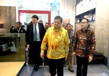Menteri Perindustrian Airlangga Hartarto pada acara Keramika 2018 (Foto: Istimewa)