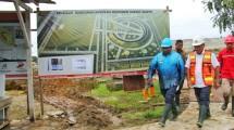 Menteri Basuki tinjau pembangunan monumen kapsul waktu