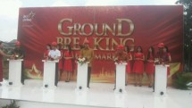 GroundBreaking Superblok JKT Living Star (Foto: Ridwan/ Industry.co.id)