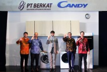 Brand perangkat rumah elektronik asal Italia, Candy siap meramaikan pasar perangkat rumah elektronik di Indonesia dengan rangkaian produk generasi baru yang seluruhnya telah terkoneksi dengan internet.