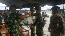 Penyerahan LTSHE oleh Korps Marinir TNI AL